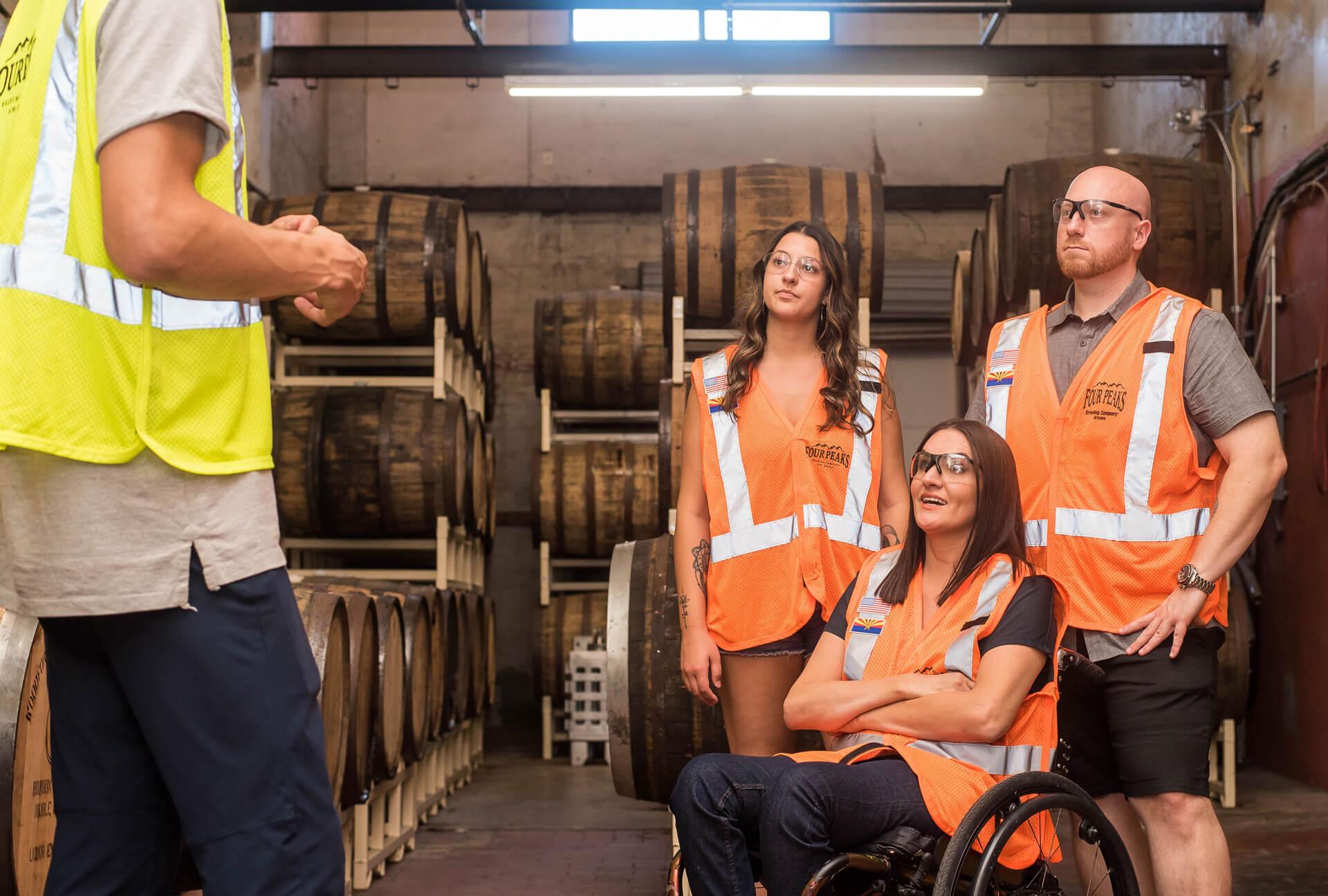 people-wearing-orange-safety-vests